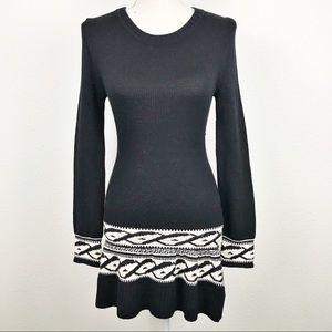 Knitz For Love & Lemons Intarsia Sweater Dress